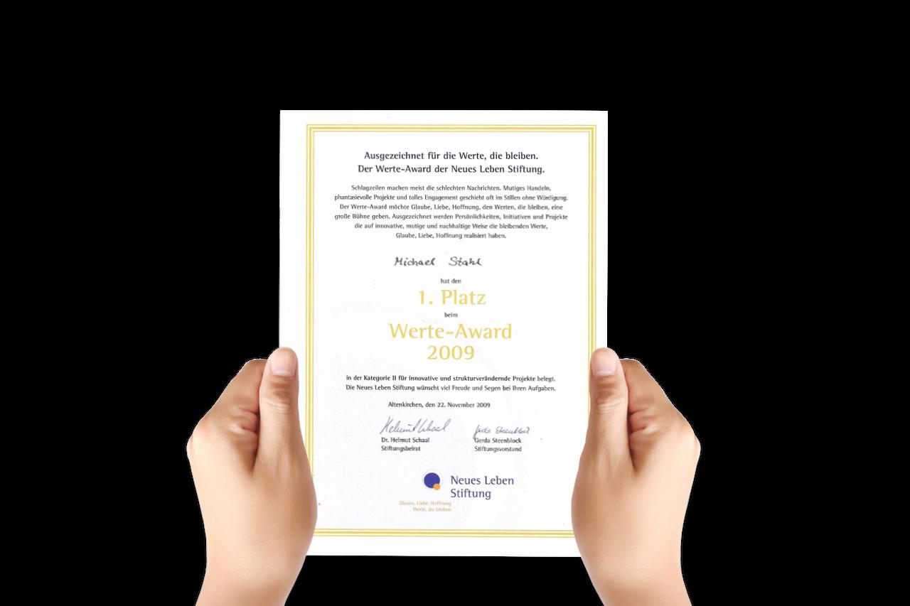 Werte Award 2009